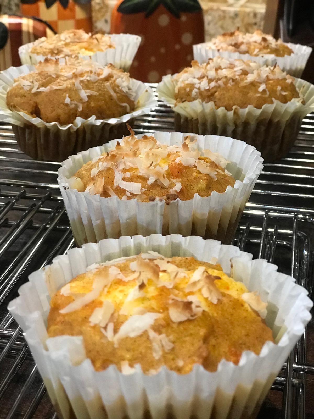 Muffins de Zanahoria conCoco