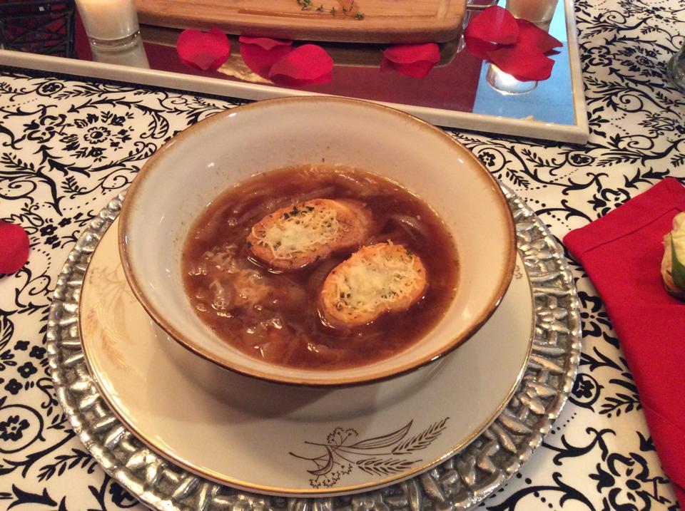 Sopa de cebollafrancesa