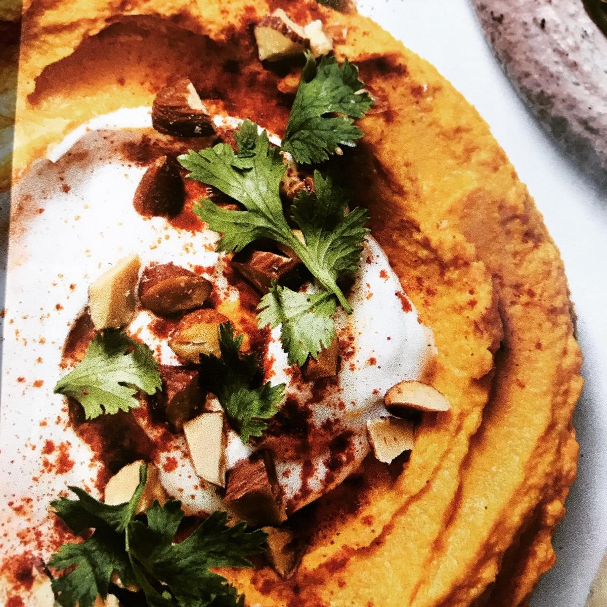 Hummus de Zanahoria yComino
